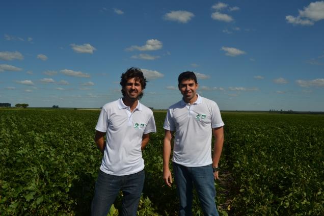 Eduardo Godoi, da Famato, e Daniel Latorraca, do Imea.